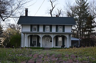 National Register of Historic Places listings in Daviess County, Indiana - Image: Thomas Faith House