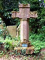 Thomas Leake's Cross, Blidworth Churchyard - geograph.org.uk - 17523.jpg