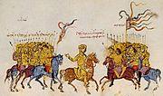 Thomas the Slav negotiates with the Arabs.jpg