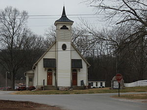 Thompson's Station, Tennessee - Thompson's Station United Methodist Church