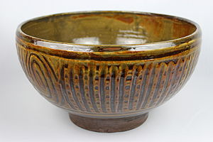 William Alfred Ismay - Image: Thrown Bowl by Michael Ambrose Cardew (YORYM 2004.1.766)