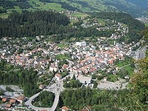 Thusis - Image: Thusis Ansicht