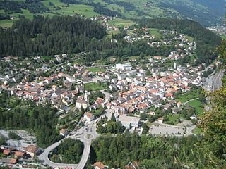 Thusis Place in Graubünden, Switzerland