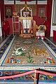 Tibetan buddhist altar, Heinrich Harrer Museum 7.jpg