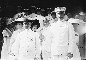 Thomas Henry Barry - Major General Thomas Henry Barry (right) with Admiral Togo Heihachiro on 12 August 1911.