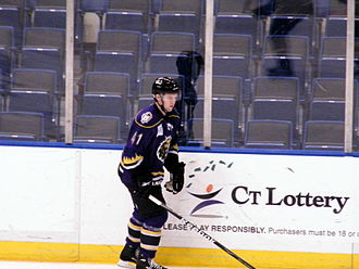 Tom Cavanagh (ice hockey) - Cavanagh with the Manchester Monarchs in 2010