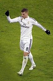 Kroos con la maglia del Real Madrid nel 2015.
