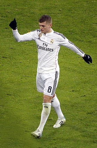 Toni Kroos - Kroos playing for Real Madrid in 2015