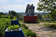 Topilne Rozhyshchenskyi Volynska-monument to the countrymans-general view-1.jpg