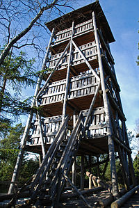 Wieża widokowa na Torfowisku pod Zieleńcem