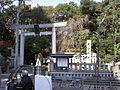 Torii (鳥居) at Nogi Shrine (乃木神社) - panoramio.jpg