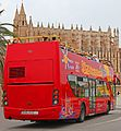 Tourist buss in front of the Cathedral - panoramio.jpg