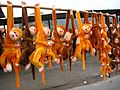 Toy monkeys in Mountain Yuntai 云台山 - panoramio.jpg