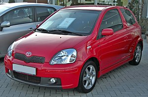 Toyota Motor Manufacturing France - Image: Toyota Yaris I 1.5 TS front