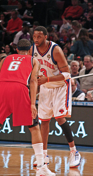 Tracy McGrady - McGrady with the Knicks in 2010