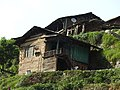 Traditional woden structure houses in Barot area , Mandi ,Himachal Pardesh 01.jpg