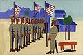 Training for War, by William H. Johnson.jpg
