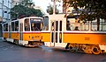 Tram in Sofia near Palace of Justice 2012 PD 010.jpg