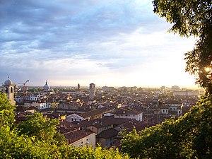 Dagobert Sigmund von Wurmser - Image: Tramonto su Brescia (Foto Luca Giarelli)
