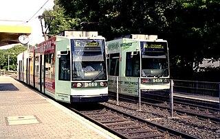 Trams in Bonn