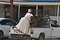 Transport en commun de femmes Namas à Kamanjab.jpg