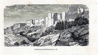 Siege of Trebizond (1461) - The Walls of Trebizond