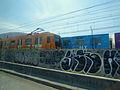 Trenes de la Estación A del Metro de la Ciudad de México 01.JPG