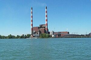 Trenton Channel Power Plant - Trenton Channel power plant in 2007