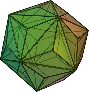 Triakis icosahedron polyhedron