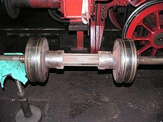 South African Class 5B 4-6-2 - Trofimoff valve, closed