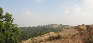 Turahalli Forest - Image: Turahalli Forest View point