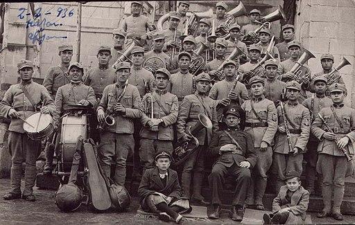 Turkey Army Band, Afyon, 1936