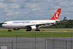 Turkish Airlines, TC-JIT, Airbus A330-223 (19049547680).jpg
