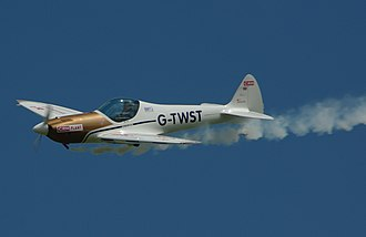 Silence Twister - Silence Twister on display at Old Warden airfield