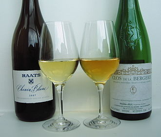 Chenin blanc - A South African (left) and Loire (right) Chenin blanc