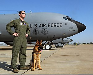 54th Air Refueling Squadron - 54th Air Refueling Squadron KC-135 and instructor pilot