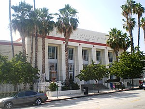 United States Post Office (Hollywood, California) - Art Deco Hollywood Station.