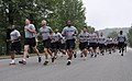 U.S. Soldiers assigned the 501st Sustainment Brigade take part in a run to celebrate the U.S. Army's 239th Birthday at Camp Carroll, South Korea, June 13, 2014 140613-A-NY467-004.jpg