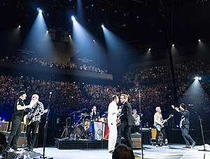 Eagles of Death Metal - Eagles of Death Metal returned to Paris, appearing on-stage during a U2 concert on December 7, 2015.