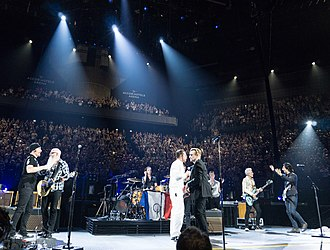 Innocence + Experience Tour - On 7 December 2015, the final show of the tour, U2 are joined on-stage in Paris by Eagles of Death Metal.