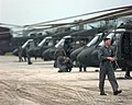 UH-60 Black Hawk at Rinas Airport (1999).jpg