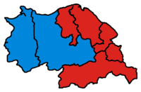 Results of the UK general election 2010 for Clwyd