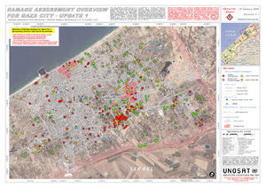 UNOSAT Gaza WV Damage Overview 10Jan09 Highres...