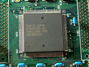 NEC V60 - V70 (μPD70632) in QFP packaging