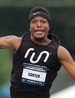 Chris Carter (triple jumper) American triple jumper