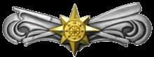 Boat Force Operations insignia - Advanced