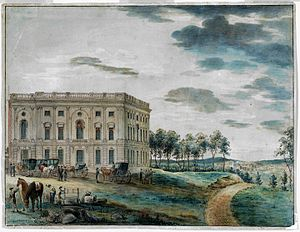 8th United States Congress - Image: US Capitol 1800