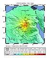 USGS Shakemap - 1992 Cairo earthquake.jpg