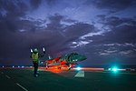 USS Bonhomme Richard conducts night flight operations. (32421101030).jpg