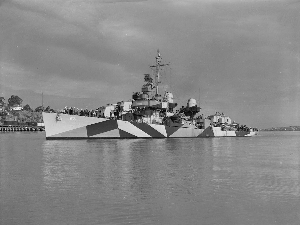 USS Claxton (DD-571) – Wikipedia